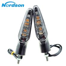 Nordson motocykl przód tył kierunkowskaz LED migacz świetlny dla HONDA CRF1000L afryka Twin 2015 2016 2017 tanie tanio Światło migacza