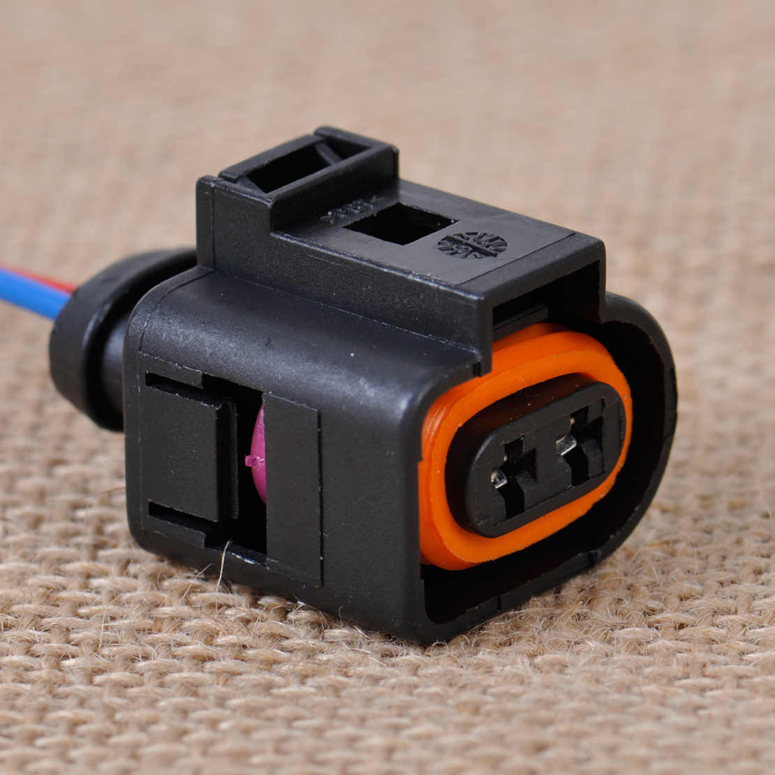 small resolution of  citall new ambient air temperature sensor electrical 2 pin connector plug wiring harness fit for