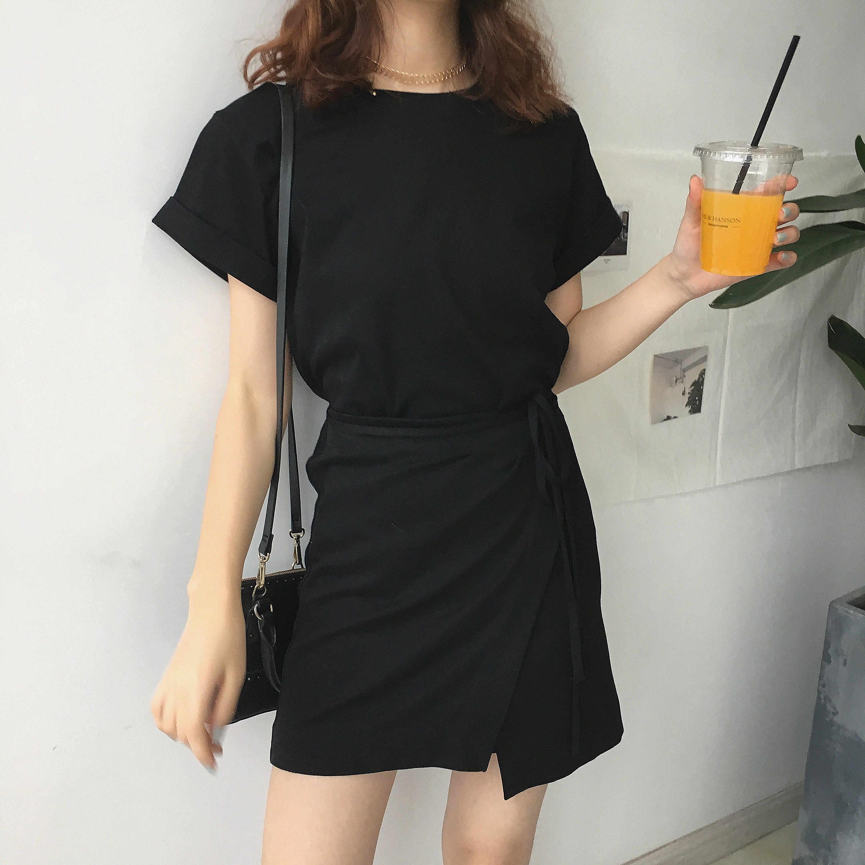 62e640e5be8 Carol diaries милое женское модное маленькое черное платье Новое лето 2017  сексуальное повседневное Vestidos с коротким