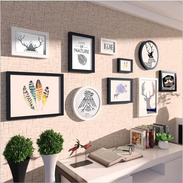 Fashionable Round Jane European Decorative Wall Photo Frames Picture ...