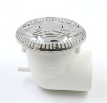 Round stainless steel 3.5spa water suctions,Clean and returning smoothly,Massage spa tub accessories