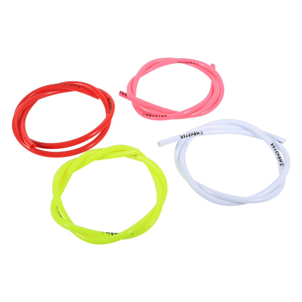 1M Colorful Gas Oil Hose Fuel Line Petrol Tube Pipe For Motorcycle Dirt Pit Bike ATV