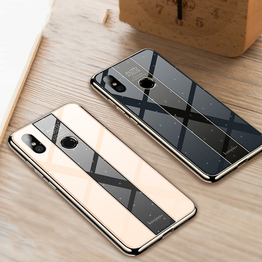 Lantro JS Phone Case for Xiaomi MI 8 MI 8 SE MI 8 LITE MI 8 Explorer Corn Reinforcement Anti Crush in Fitted Cases from Cellphones Telecommunications
