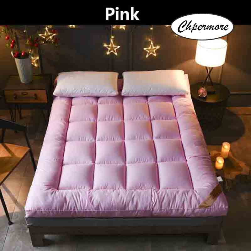 Image 2 - Chpermore Thicken Feather velvet Mattress five star hotel Foldable Tatami Single double Mattresses Cotton Cover King Queen Size-in Mattresses from Furniture