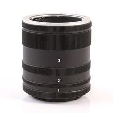 Fotga Macro Extension Tube Lens Adapter Ring Voor Sony E Mount Nex Camera Lens A7 A7R S A5100 A6000