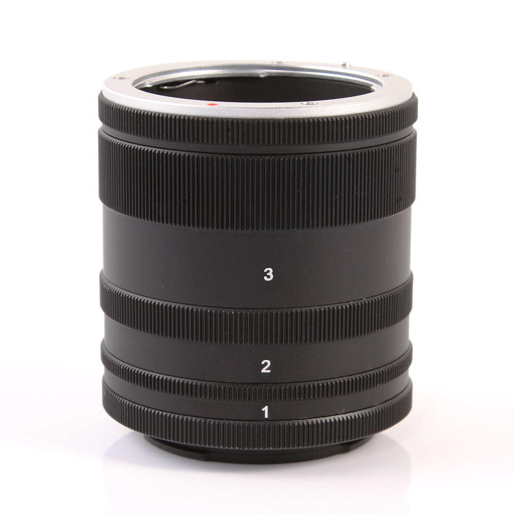 Macro Extension Tube Lens Adapte Ring For Sony E Mount NEX Camera Lens A7 A7R S A5100 A6000