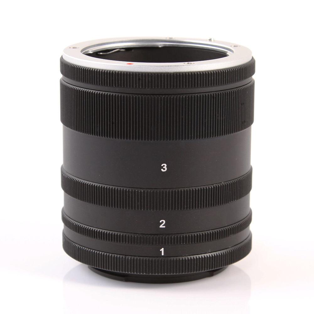 Macro Extension Tube Objectif Adapte Anneau Pour Sony Monture E NEX Camera Lens A7 A7R S A5100 A6000