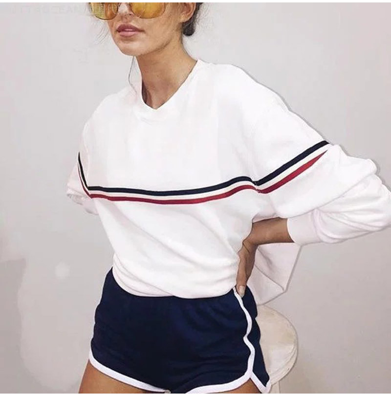 HTB11 rwSXXXXXcXapXXq6xXFXXXu - Long Sleeve Striped Sweatshirts Kpop PTC 72