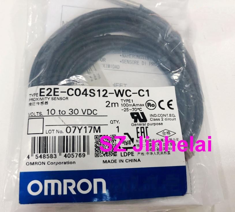 100% Authentic original E2E-C04S12-WC-C1 OMRON Proximity switch, Proximity sensor 2M [zob] proximity switch e2e x4md2 2m