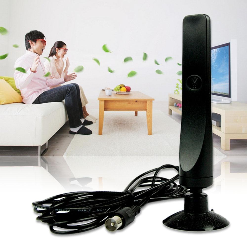 YCDC Nero 12dBi Antenna Per DVB-T TV HDTV Digitale Terrestre Spedizione Gratuita