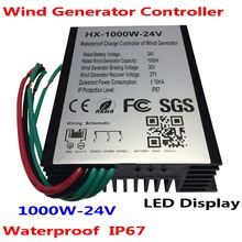 1500W Wind Turbine Charge Controller 24V 48V 1000W 2000W Wind Turbine Generator Regulator Charge Controller Waterproof IP67 цена