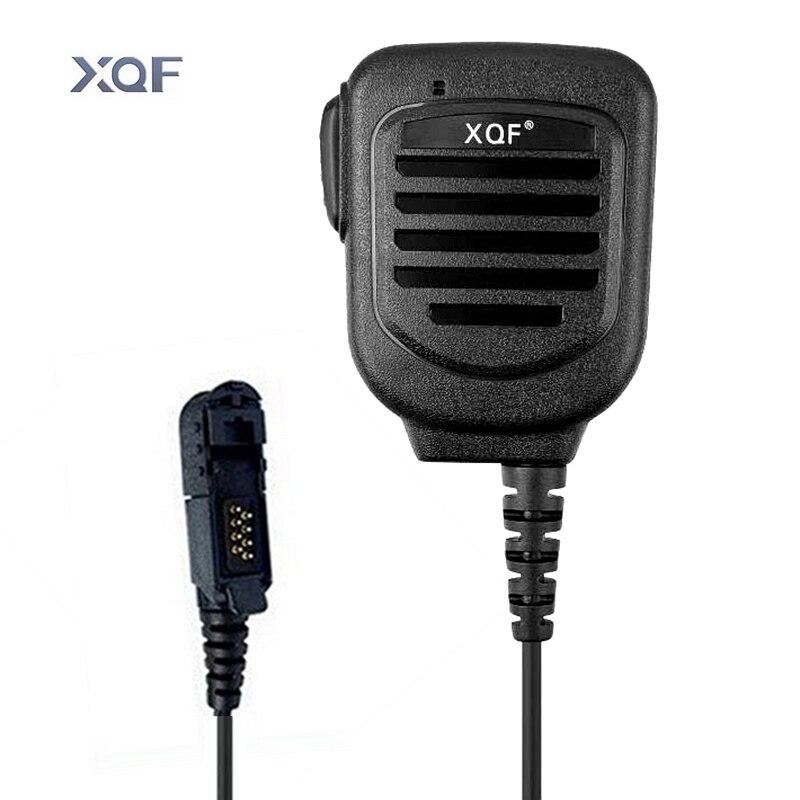 XQF Microfone Mão Rádio SM109 Ombro IP67 Microfone À Prova D Água Para Motorola Walkie Talkie XiR XiR P6600 P6628 E8600 DP2000