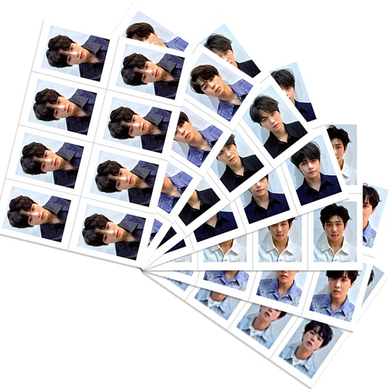 8pcs/set KPOP Bangtan Boys LOVE YOURSELF Album Photo Card Hip Hop Self Made Paper Cards Photocard ...