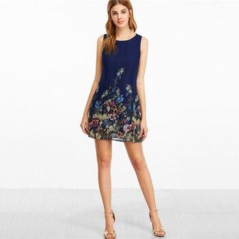 A-Line Boho Mini dress