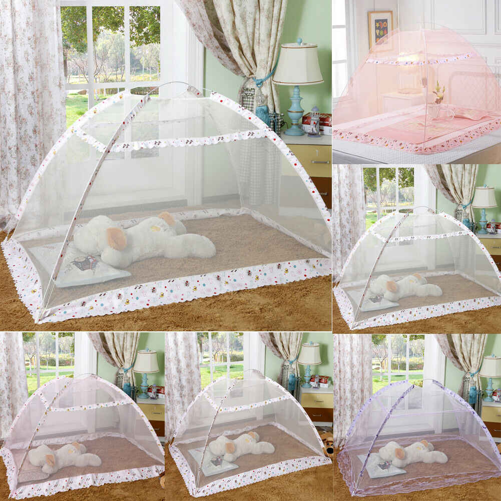 New Summer Portable Folding Pop Up Baby Mosquito Net Bed Canopy Tent Crib Travel Camping Outdoor Insecticide Net
