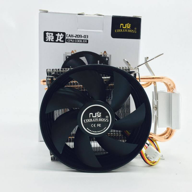 CPU Cooler Cooling Fan(Multi-Platform Radiator fan heat pipes mute) 16dBA DC12V 90*90MM for Intel/AMD Socket pcooler s90f 10cm 4 pin pwm cooling fan 4 copper heat pipes led cpu cooler cooling fan heat sink for intel lga775 for amd am2