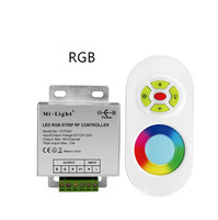 30 шт. Mi. свет FUT042 DC12V DV24V 433 мГц RGB Светодиодные ленты контроллер с РФ дистанционного max 10A для 5050 2835 RGB Светодиодные ленты свет лента