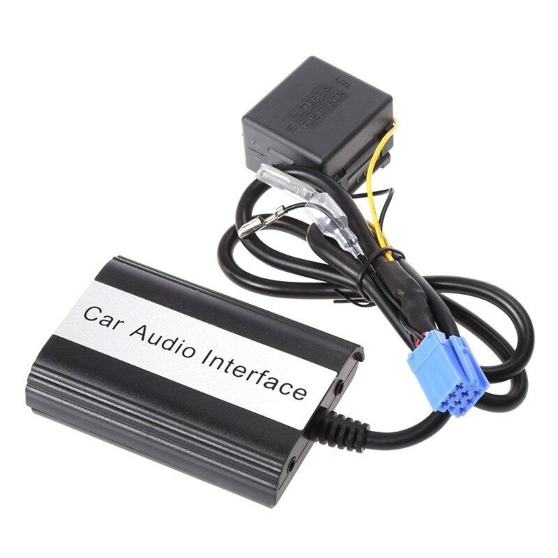 Hot nouveau 1 kit mains libres Auto voiture Bluetooth Kits MP3 musique USB AUX adaptateur Interface pour Fiat pour Alfa Romeo de haute qualité - 3