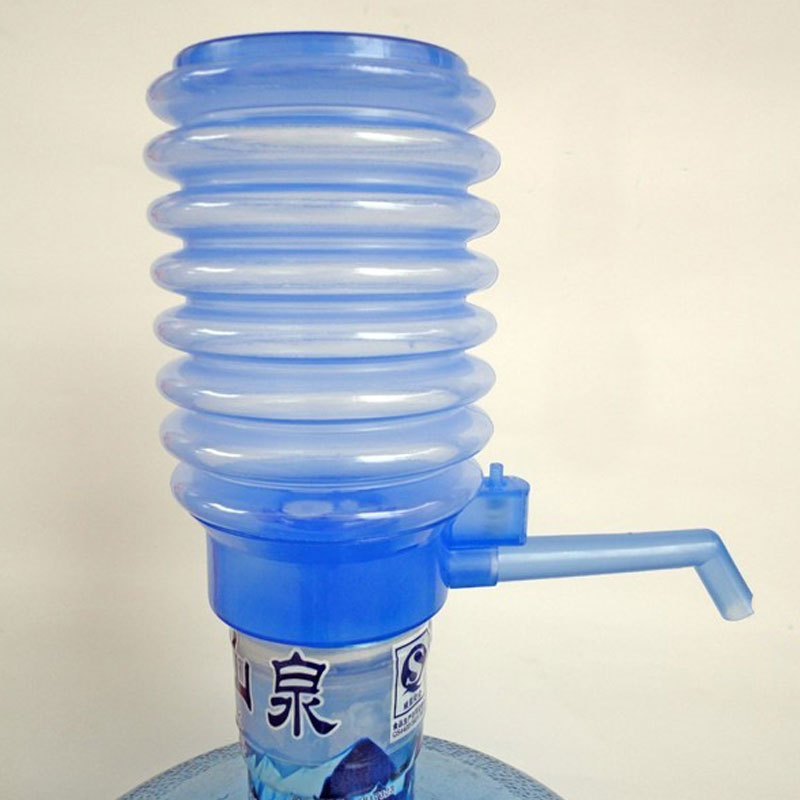 Barreled Water Press Hand Pressure Pump Water Absorber Suction Pump Water Press  Portable Travel Outdoor Tools