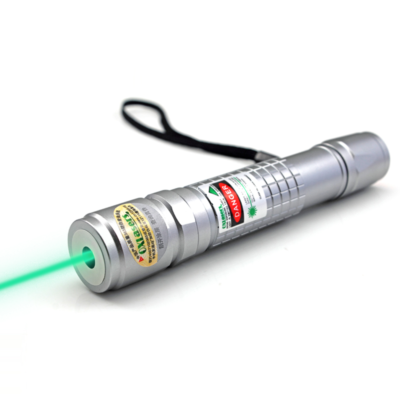 oxlasers new focusable 520nm 5mW green laser pointer Lazer pointer flashlight fat beam with 5 star
