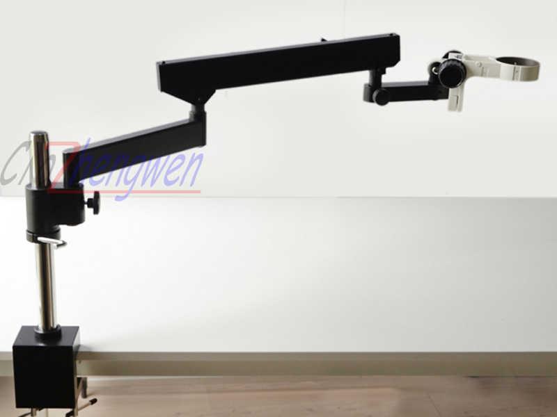 FYSCOPE nouveau MICROSCOPE FOCAL intelligent SIMUL 7X-90X bras articulé ZOOM MICROSCOPE stéréo + 56LED