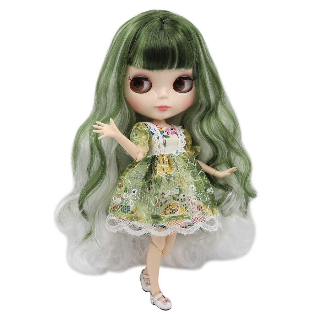 Ледяная фабрика blyth кукла Обнаженная 30 см Заказная кукла 1/6 BJD кукла с соединением тела ручные наборы AB как подарок Специальная цена