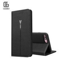 Luxury Leather Case For Apple IPhone 6 S 6s 7Plus Wallet Card Slot Magnet Stand Genuine