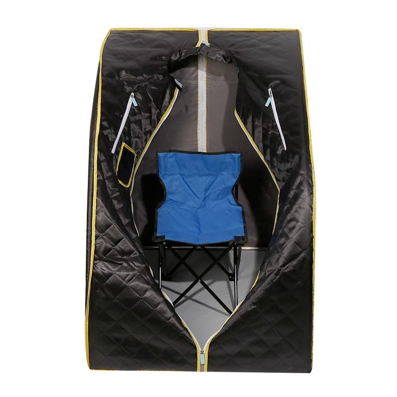 Outdoor Sport Equipment 2018 New Portable FIR/FAR Infrared Sauna Tent Home Sauna Spa Steam Box Detox Lose Weight Slimming body