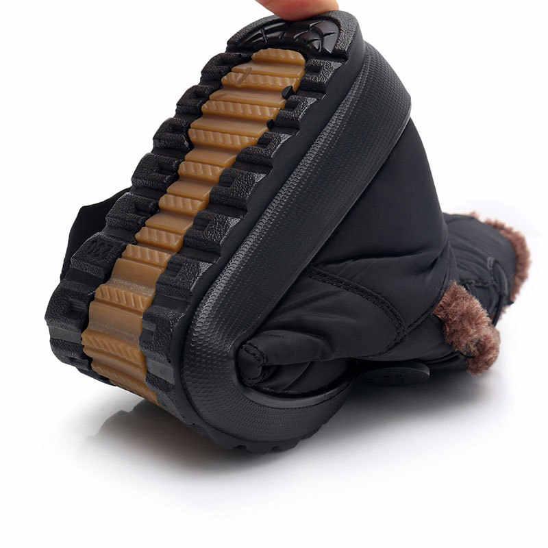 Kaymaz Kar Botları 2018 Yeni Bayan Botları Sıcak Kış Botları Su Geçirmez anne ayakkabısı Kış Kadın Ayakkabı Artı Kadife Pamuk çizmeler