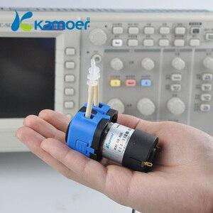 Image 3 - Kamoer KXF 6 V/12 V/24 V מיני Peristaltic משאבת מים עם DC מנוע קטן גודל תמיכה עצמית תחול