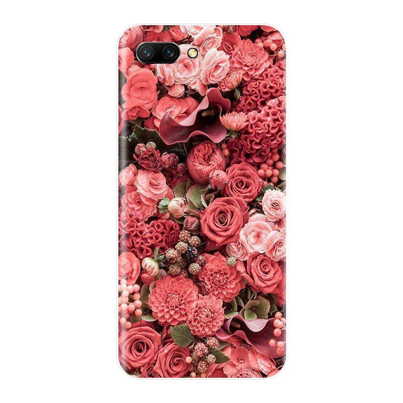 Téléphone étui pour Huawei Honor 7A 7C 7S 7X8 Pro Silicone souple TPU chat mignon peint couverture arrière pour Huawei Honor 10 9 8 7 Lite Case