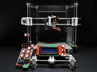 [SINTRON] High Accuracy DIY 3D Printer full electronic Kit for Reprap Prusa i3,MK3 heatbed,LCD 2004 , MK8 extruder Free shipping