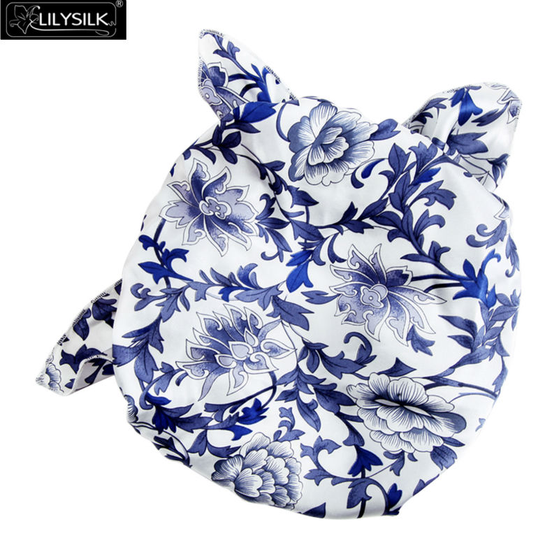 1000-19momme-blue-and-white-silk-sleeping-cap-04