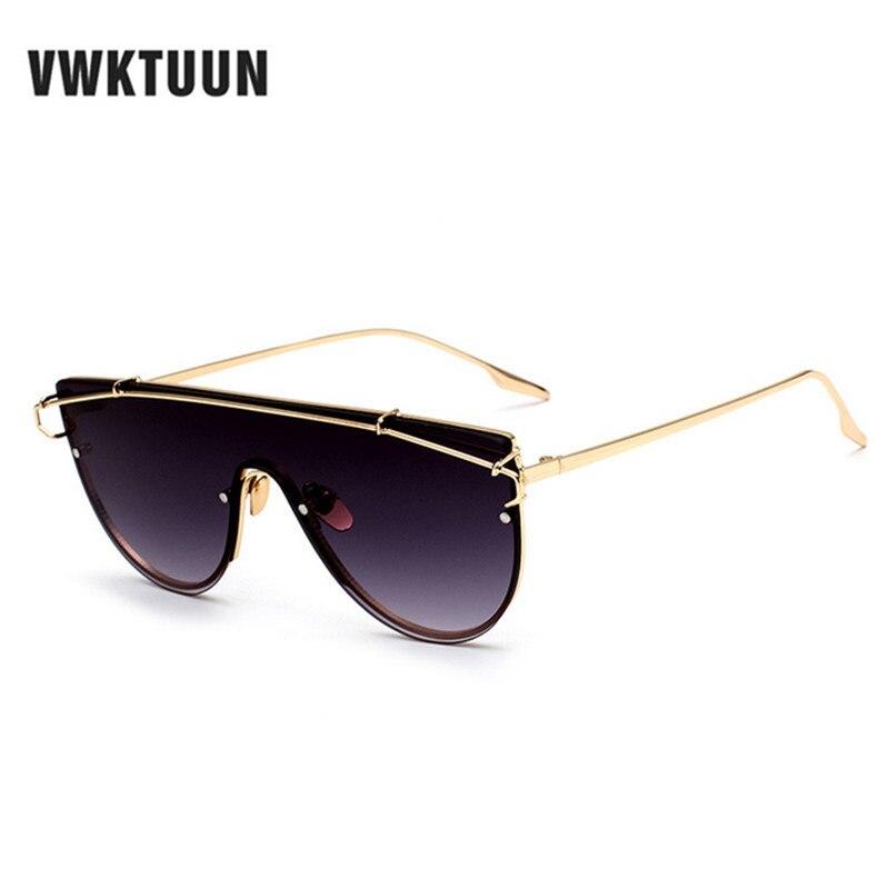 fa669cd8700c6 6 novas Mulheres de Luxo Cor Flat Top Olhos de Gato Óculos De Sol Das  Mulheres marca Designer óculos de Sol Para Mulheres Dos Homens Frame Da  Liga UV400 ...