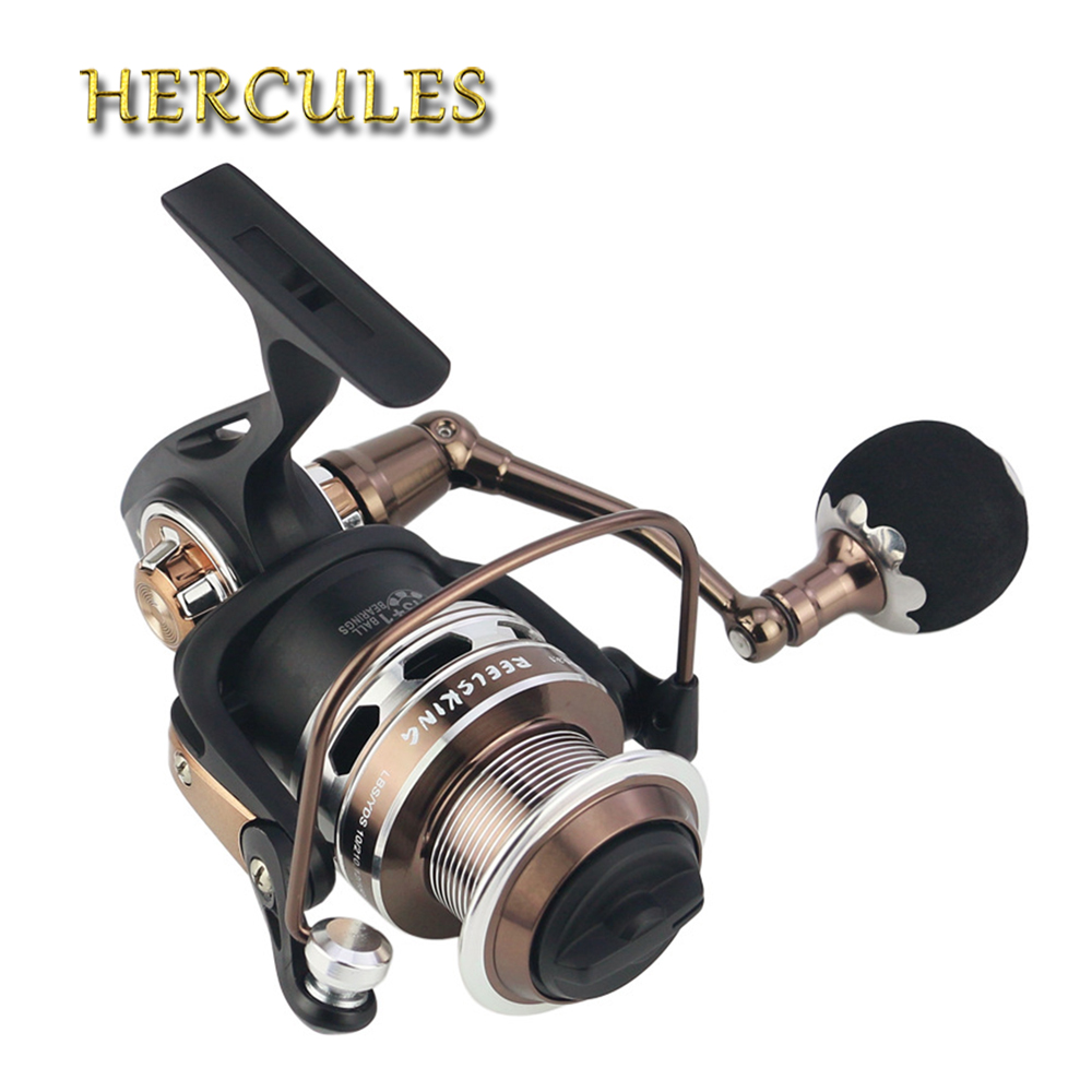 Hercules 5000/6000/7000/8000/9000 13+1 BB Full Metal Surf Casting Reel Long Shot Sea Fishing Reels Cast Wheel Spinning Fish Reel 12 1 bb ball bearing left right fishing spinning reels sea fish line reel