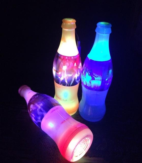 Goedkope light up decoratie cola fles licht fluitje flash for Goedkope decoratie