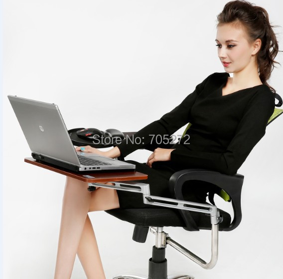 2016 Real Stock Mouse pad with Human Body Laptop Mount tablet support computer holder Keyboard Tray Computer stand Dash