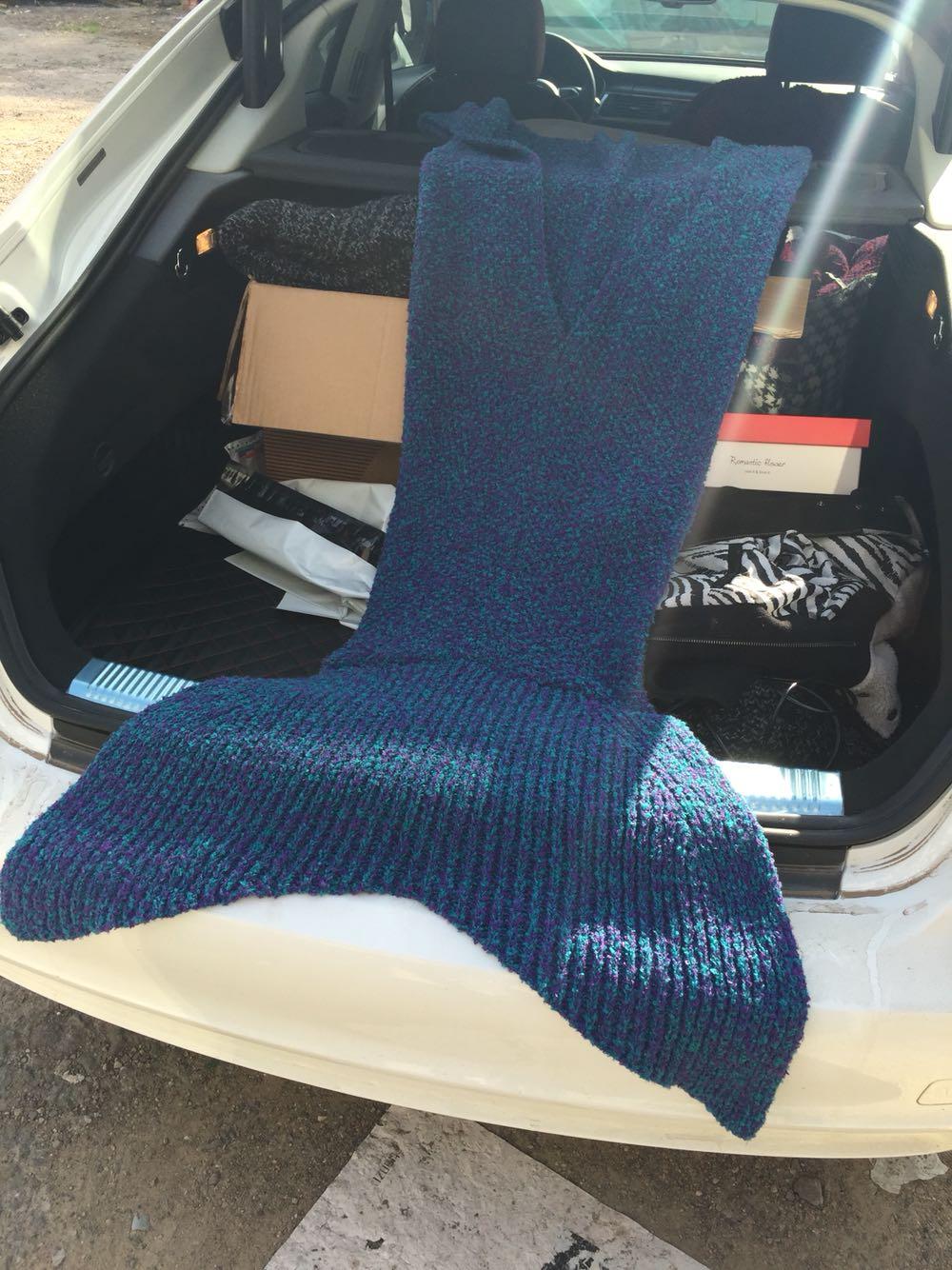 Bebek battaniyesi modelleri battaniyeleri car pictures - 80 Cm 180 Cm Mermaid Battaniye Rme Desen Battaniye Mermaid Kuyruk Battaniye Ocuklar Ve Yeti Kinler Tarz