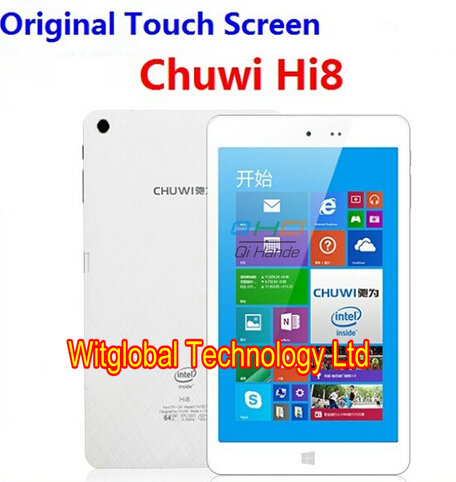 100% Original Brand New Chuwi Hi8 Touch panel Touch Screen Replacement for Chuwi Hi8 Screen Glass Digitizer Free Shipping