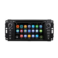 KLYDE 6.2 1 Din Android 8.1 Car Radio For JEEP Sebring 300C Compass Car Audio Multimedia Mirror link Car Stereo Steering Wheel