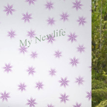 Self-adhesive film Frosted window foil Glass Stickers Flowers  Privacy Stained Decorative Film on Window home decor width 90cm цена 2017
