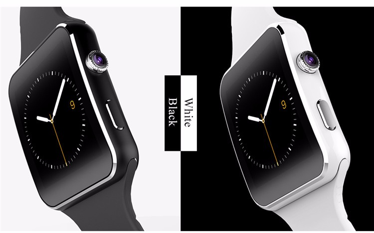 Fashion Black Sport Bluetooth Smart Watch For Android IOS Phone Call SIM Card Intelligent Watches 1.54'' HD LCD OGS Touch Screen (14)