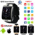 2017 Bluetooth Smart Watch Q18 Smartwatch Support NFC SIM Card GSM Video camera Support Android/IOS Smart Phone PK GT08 DZ09 U80