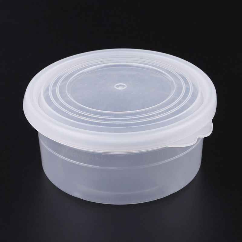 Slime Storage Container Foam Ball Storage Box Case Jar Pot With Lids For Plasticine Soft Clay 50g