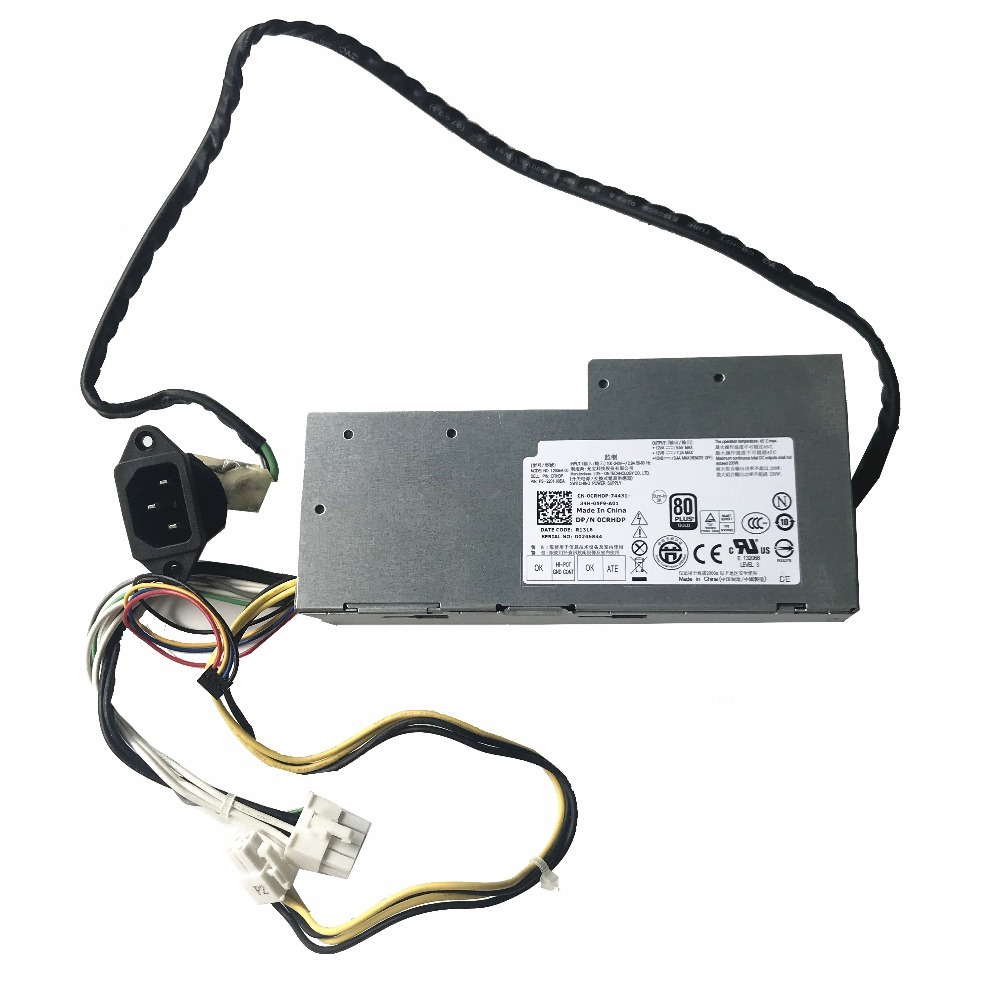 for DELL 9010 AIO 9020 AIO 2330 Power Server Power Supply 200W 0RYK84 RYK84 DPS-200PB-187 D200EA-00 100/% Tested