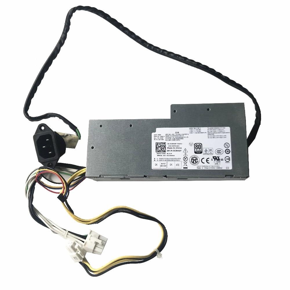 Original For DELL Optiplex 9010 9020 2330 AIO PSU 200W Power Supply CN 0CRHDP 0CRHDP CRHDP