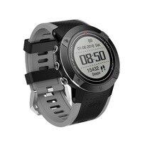 DM18 gps спортивные часы Смарт Диапазон Секундомер Будильник сидячий Шагомер монитор сердечного ритма Водонепроницаемый наручные часы для