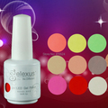 12Pcs/lot 15ML 2015 Brand New Gelexus Soak Off UV Nail Gel Polish 343 Fashion Colors Available For Salon Gel Polish