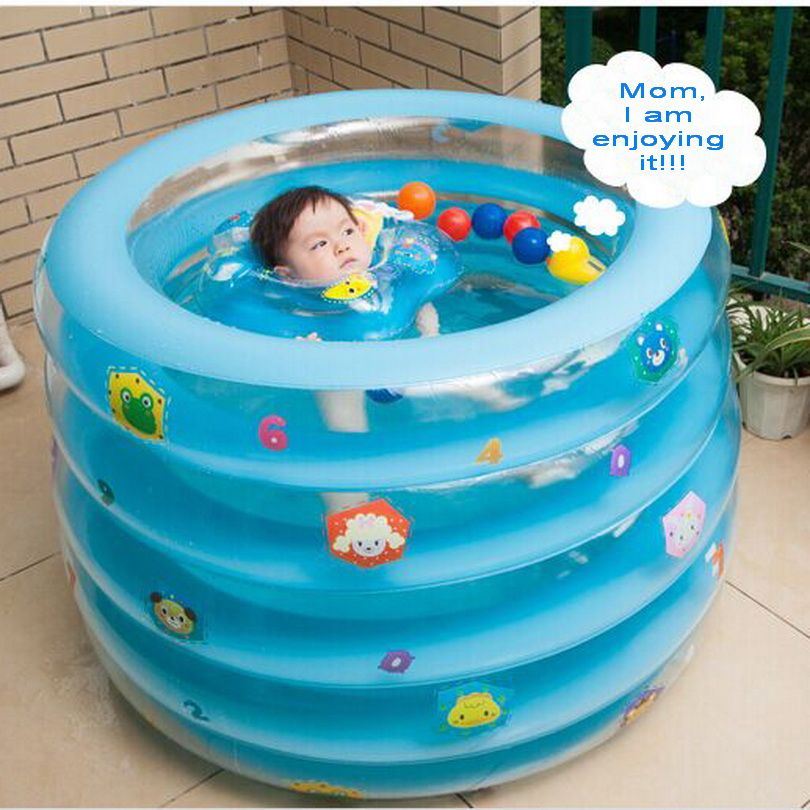 5 layer hardcover cartoon newborn infant swimming pool for Big paddling pool