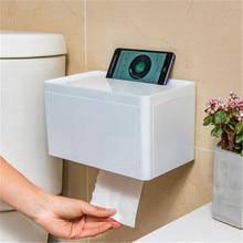 2019 new kitchen bathroom punch-free waterproof toilet paper rack roll tissue box